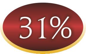 31procent